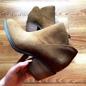 JS shade ankle booties